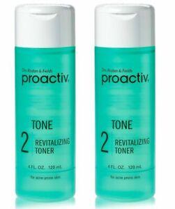 Proactiv New Revitalizing Hydrating Facial Toner For Sensitive Skin 4oz (2 Pack)
