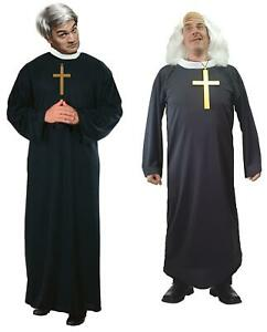 Comedy TV Show TED & JACK Priest Vicar Religious Father Fancy Dress Costume