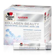 DOPPELHERZ Kollagen beauty system Ampullen 30St a 25ml PZN 13332904 plus Proben