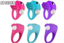 Rabbit Vibrator Cock Ring Butterfly Massager Cliti Vibrating Cool Sex Toy 2018