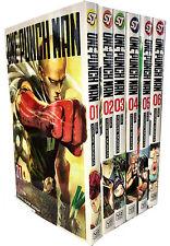 One-Punch Man Volume 1-6 Collection 6 Books Set Children Manga Books Set Pack
