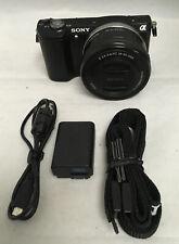 Sony Alpha a5000 20.1 MP Digital SLR Camera w/18-55mm Lens. #1353