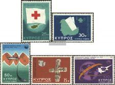 Zypern 429,430,431,432-433 (kompl.Ausg.) postfrisch 1975 Sondermarken
