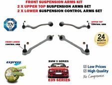 FOR BMW 5 SERIES E39 1996-2003 FRONT AXLE UPPER LOWER SUSPENSION CONTROL ARM SET