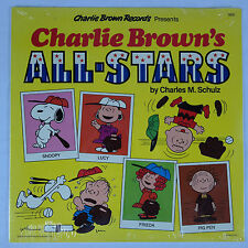 Charlie Brown's All-Stars by Charles M Schulz/1978 Snoopy SEALED