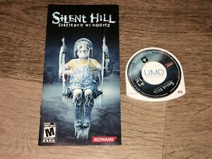 Silent Hill Shattered Memories PlayStation Portable PSP w/Manual Authentic