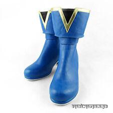Puella Magi Madoka Magica Sayaka Miki Cosplay Shoes Boots
