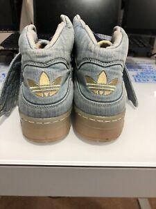 Size 10 - adidas Wings x Jeremy Scott Denim