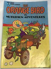 Walt Disney World Orange Bird Educational Media Company Comic Book 1980 Citrus