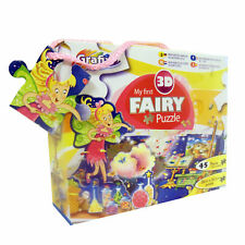 Children's Party Prize – 45 Piece Puzzle with 3D Pieces - Fairy