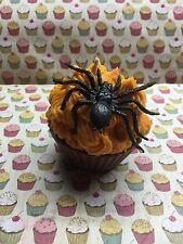 "Halloween Cupcake Chocolate Candle Soy Wax ""Homemade"""
