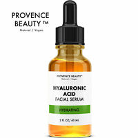 Provence Beauty Hydrating Hyaluronic Acid Facial Serum for Anti Aging - 2oz