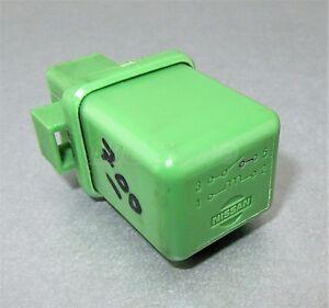 700-Genuine Nissan (1990-2003) 4-Pin Multi-Use Green Relay 25230-C9965 12V Japan