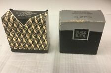 Avon Black Suede Shower Soap On A Rope 5 oz New In Box 1996/1992 Lot Of 2 Bars