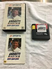Mario Andretti Racing (Sega Genesis, 1994) Complete. Used. Free Shipping.