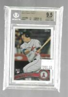 Mike Trout 2011 Topps Update Rookie BGS 9.5--True Gem--Angels