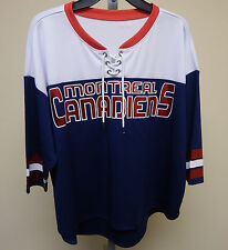 GIII Sports NHL Montreal Canadiens DIVISION 1 Womens Long Sleeve Sample Top-NWOT