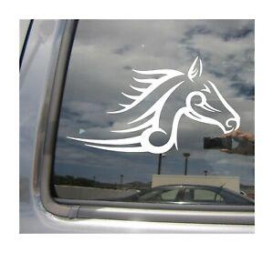 Tribal Horse Stallion Mustang Auto Window High Quality Vinyl Decal Sticker 01089