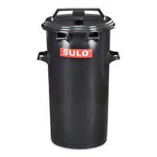 50 L runde SULO Mülltonne Mülleimer Abfalltonne Behälter Farbe grau NEUWARE.