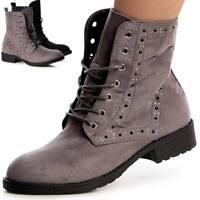 42% OFF B20083852 Damen Hailys Schuhe Worker Boots Plateau