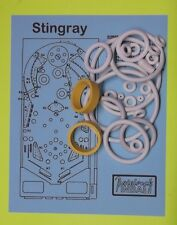 1977 Stern Stingray pinball rubber ring kit