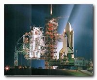SPACE 1981 SHUTTLE LAUNCH NUMBER ONE COLUMBIA FINE ART PRINT POSTER CC4252