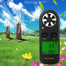 Digital LCD Anemometer Thermometer Handheld Wind Speed Meter Gauge Air Velocity