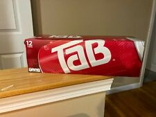 12 pack of Tab Cola Soda Pop 12oz Cans *New* *In hand* unopened FREESHIP