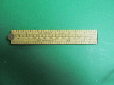 Stanley No 163 scale rule