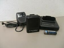 Motorola Radius Pr3000 Vhf Pager and Charger 153.45500Mhz A03Ebb2468Aa