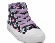 ZAC T2048 Fashion Sneakers Kid's Rubber Shoes BLACK/VIOLET  SIZE  30