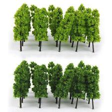 20pcs Model Trees Train Railroad Diorama Wargame Park Scenery HO scale 60mm Mini