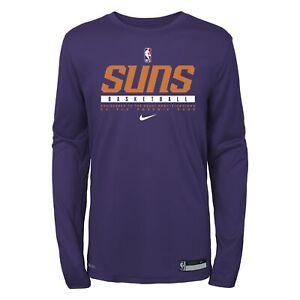 Nike NBA Youth (8-20) Phoenix Suns Practice Long Sleeve T-Shirt