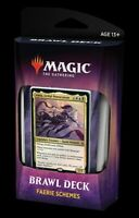 MTG Brawl Deck FAERIE SCHEMES Throne of Eldraine Magic the Gathering NEW SEALED