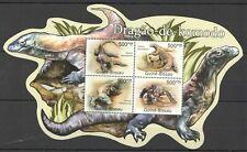 BC655 SALE GUINEA-BISSAU FAUNA REPTILES DRAGAO-DE-KOMODO DRAGON VARANUS KB MNH