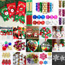 Christmas Party Ornaments Snowflake Snowman Hanging Balls Bauble Tree Home Decor