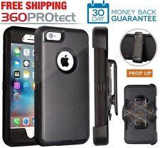 Apple iPhone Full Protection Case Cover(Belt Clip fits Otter box Defender)Black
