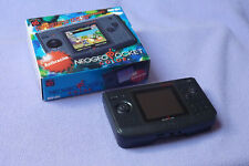 Neo Geo Pocket Color Console - Anthracite Boxed Excellent Condition | SNK | NGPC