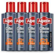 4 x Alpecin C1 Caffeine Shampoo for Men - Thicker & Stronger Hair 375ml