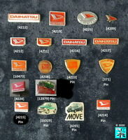 DAIHATSU AUTO Anstecknadeln lapel pins + Pins 1980s - 2000s AUSSUCHEN choice