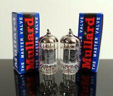Matched Pair (2) Mullard ECC83/12AX7 tubes - Russia