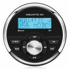 Aquatic AV Gp1 Radio Marina per imbarcazioni Impermeabile Ip65 Bluetooth e Mp3