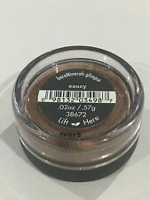 """bareMinerals  Eyecolor Glimpse""""SAUCY"""".57g New/Sealed!"""