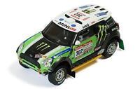 Ixo Mini All 4 Racing S. Peterhensel / J.P. Cottret Winner Dakar 2012 #302  1:43