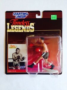 1995 Kenner Starting Lineup Timeless Legends Joe Louis NIB