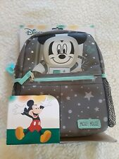 Disney Baby Mickey Mouse Mini Harness Backpack Space Themed Safety Straps New