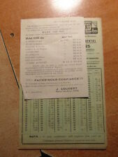 Brochure Prospectus COUTELLERIE J.COUDERT Septembre 1926 Galerie VERO-DODAT