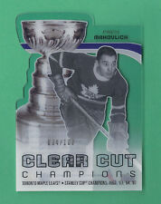 2010-11 UD Series 1 Clear Cut Champions FRANK MAHOVOLICH #94/100