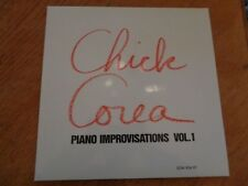 Chick Corea – Piano Improvisations Vol. 1 lp