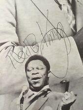BB KING B.B. Signed Autographed  Album Lp